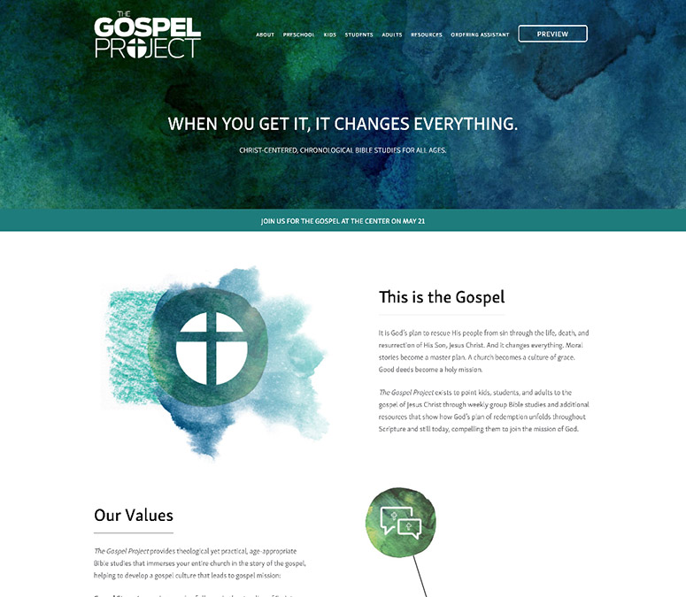 The Gospel Project - Celtson Portfolio